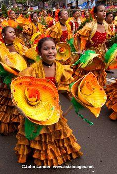 Cebu Sinulog Festival held every January to honor the Santo Niño.
