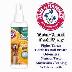 Tartar Control Dental Spray | PetConnection.ie #CatSprayingBakingSoda