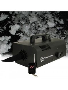 Lanta Blizzard V2 Snow Machine High Power Snowing Effect Inc Wireless Remote