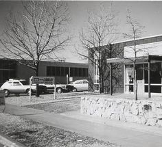 Brookside Library -- location at 45th & Peoria (opened in 1967) :: TULSA CITY-COUNTY LIBRARY IN PICTURES