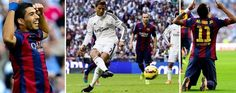 Real Madrid 3-1 Barcelona - http://www.tsmplug.com/football/highlights/real-madrid-3-1-barcelona/