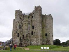 Castelo Trim, o maior castelo normando na Irlanda, fica na margem do rio Boyne. O Castelo Trim só é acessível através de uma visita guiada por causa das muitas passarelas suspensas e torres crescentes torná-lo um pouco perigoso para explorar sozinho. As torres de 80 metros de altura permitem ver todo o caminho para Tara, a cerca de 10 quilômetros de distância!  Fotografia: Stacy via Flickr.