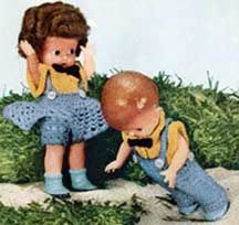 Jack & Jill Doll Patterns | Crochet Patterns