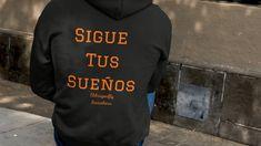 Barcelona, Hoodies, Sweatshirts, Sweater Hoodie, Street Fashion, Grid, Graphic Sweatshirt, Quote, Street Style