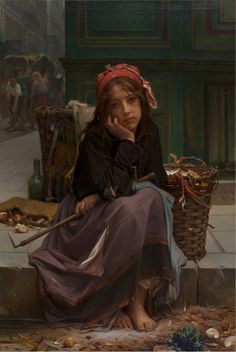 Art Collector: 10 Paintings, PORTRAIT OF A LADY, with Footnotes. # 21