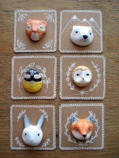 Luxuriöse Dıy (do it yourself) - gepinnt von ❃❀CM❁✿Broche Spirit My Rabbit oM . it yourself projects Luxuriöse Dıy (do it yourself) - gepinnt von ❃❀CM❁✿Broche Spirit My Rabbit oM . Diy And Crafts, Arts And Crafts, Paper Crafts, Diy For Kids, Crafts For Kids, Paperclay, Clay Animals, Clay Charms, Clay Projects