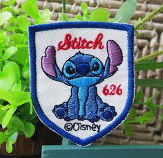 Disney Lilo and Stitch iron on patch E075 by happysupply on Etsy, $3.10