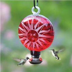 The Sun Hummingbird feeder.