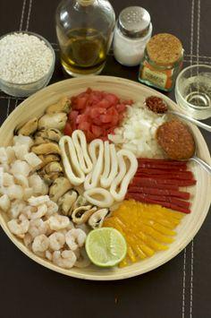 Ingredientes para Paella
