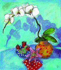 ":""Shades of Paradise"" acrylic by Syd Tunn"