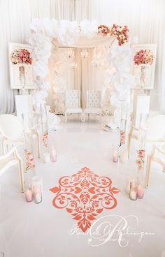 Styled the Aisle | Wedding Ceremony Ideas - Belle The Magazine