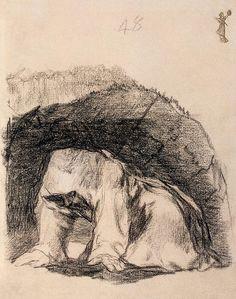 Penitent Monk, Francisco Goya
