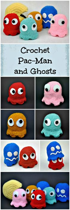 Crochet Pac-Man And Ghosts Amigurumi Pattern - Crochet Amigurumi - 225 Free Crochet Amigurumi Patterns - Page 3 of 4 - DIY & Crafts