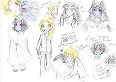 Type: Fan Art,  Anime(s)/Show(s): Marvel,  Character(s): Jotun! Loki, Young! Thor, Comment: These comics are always very cute.