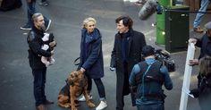 "Sherlock Season 4 New photos (BBC) Mashable...""ITS COMING!! SO STOKED. XD"""