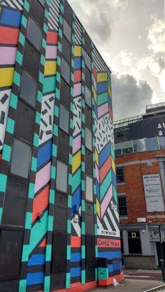 Hoxton Skyscraper, Graffiti, Multi Story Building, Skyscrapers, Graffiti Artwork, Street Art Graffiti