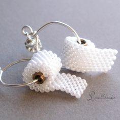 Toilet paper earrings?!
