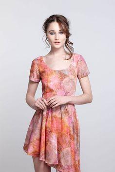 Divination Asymmetric Dress - Anthropologie.com