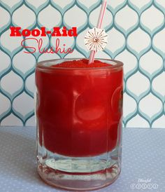 Go back to being a kid with this Copycat Kool-Aid Slushie. There is nothing that screams fun more than a nice, cold slushie. These easy-to-make Kool-Aid slushie recipes are fun to do with the kids. Summertime Drinks, Summer Drinks, Summer Food, Party Drinks, Fun Drinks, Beverages, Refreshing Drinks, Smoothie Drinks, Smoothies