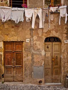 Italian doors..
