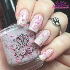 MDJ Creations 5 Free Vegan Nail Polish ~ Swatch and Review