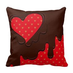 Strawberry Heart -with all my love- Pillows