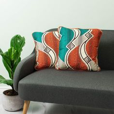 African cushion 2 set Cushion African  African throw cushion