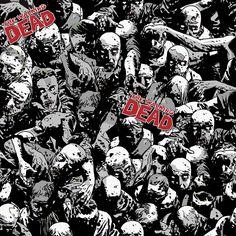 The Walking Dead Stoff - Skybound Walking Dead Zombies Comics - Original Lizenzware!