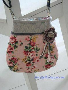 handmade zakka style sling bag