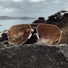 "a95b0c1f19f The Gold Gods on Instagram  ""The Escobar Aviator Sunglasses look excellent  in our Brown Gradient lenses 🏆 Get your pair now for  119 online ..."