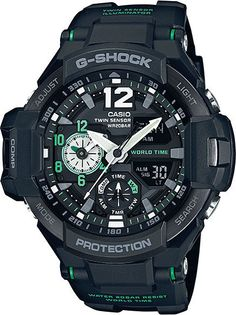 Mens G-Shock Sky Cockpit Twin Sensor