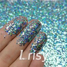These cosmetic grade holographic glitter are ultra-thin and have a chameleon like effect in that their colors seem to change as you look at them from at different angles and in background color. Selling bulk poly glitter, and offer wholesale. Bulk Glitter, Glitter Slime, Loose Glitter, Holographic Glitter, Cosmetic Grade Glitter, Hair Decorations, Hexagon Shape, Nail Arts, Resin Art