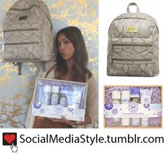 Buy Jessica Alba's The Honest Company Backpack and Bath Products Gift Set, here!