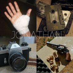 monster-hunting trio + aesthetics : jonathan byers, stranger things