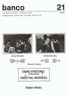 STEPHEN WILLATS | CODING STRUCTURES. REPRESENTATIONS. PERCEPTUAL INFERENCES |