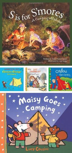 {Camping Books} *Love how this blog offers Want, Need, LEARN gift guides. Too cool.