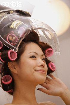 (notitle) Sure, the bushy perms of the might be out of vogue, but there are abundance (generic t Asian Perm, Sleep In Hair Rollers, Using A Curling Wand, Getting A Perm, Perm Rods, Air Dry Hair, Types Of Curls, Permed Hairstyles, Wand Curls