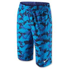 Boys' Nike Fly Graphic Training Shorts | FinishLine.com | Game Royal/White