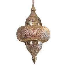 Pierced Moroccan Lantern (Might be SPECTACULAR in the entry way- but quite the investment!)