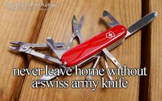 Swiss Army Knife |Photo by: James Case