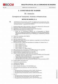 SECCIO SINDICAL UGT SECURITAS CATALUNYA: Anuncio de adjudicación del servicio de vigilancia...