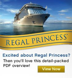 Regal Princess Cruise Ship Features : Princess Cruises  February will be on this new beauty.