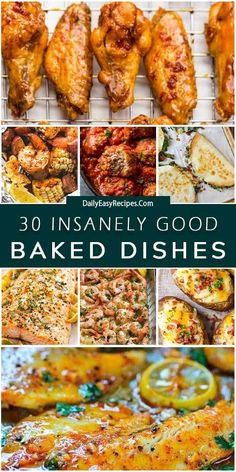30 Insanely Delicious Baked Dishes – My Recipe Room Clean Eating Dinner, Clean Eating Snacks, Healthy Eating, Macro Meals, Cooking Recipes, Healthy Recipes, Food Inspiration, Food To Make, Good Food