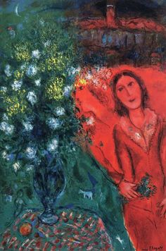 Marc Chagall ~Via Pauline Agnew Marc Chagall, Pablo Picasso, Chagall Paintings, Art Moderne, Cubism, Art Music, Love Art, Great Artists, Les Oeuvres