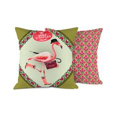 Flamingo Outdoor Cushion 35x35, 39€, now featured on Fab.