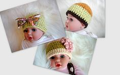 Ravelry: FREE pattern Adorable Beanie Hat pattern by Adina Volokitkin
