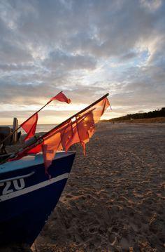Baabe - Flaggenboot