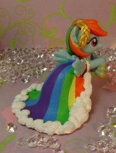 Gala Rainbow Dash G4 Blind Bag My Little Pony by SanadaOokmai.deviantart.com on @deviantART