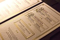 Prior to Prohibition, cocktail menus were rare. Now, we're amid a golden age of the cocktail menu—creative, fun and occasionally outlandish. Photo courtesy of Noble Experiment.