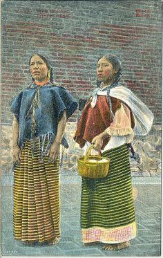 Mexican Women Postcard